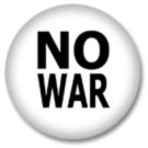 No War Button / Ansteckbutton