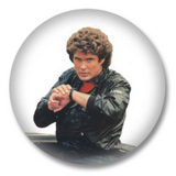 David Hasselhoff Button Badge / Ansteckbutton