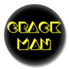 Crackman Button #2 - Button Badge / Ansteckbutton