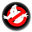 Ghostbuster - 80er Jahre Button Badge / Ansteckbutton