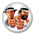 Bud Spencer und Terrence Hill - Button Badge