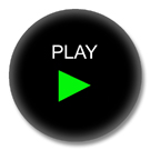 Button mit Motiv - Play Button