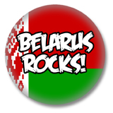 Weißrussland Button - Belarus Rocks