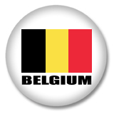 Belgien Flagge Button
