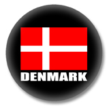 Dänemark Flagge Ansteckbutton