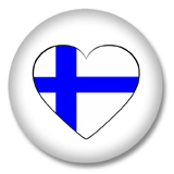 Finnland Ansteckbutton