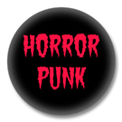Horror Punk Button Badge