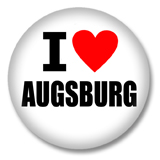 I love Augsburg Ansteckbutton