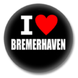I love Bremerhaven Button