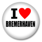 I love Bremerhaven Ansteckbutton