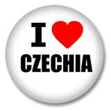 Tschechien Button - I love Czechia