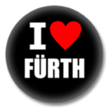 I love Fürth Button