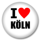 I love Köln Ansteckbutton