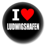 I love Ludwigshafen Button