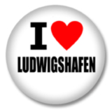 I love Ludwigshafen Ansteckbutton