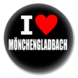 I love Mönchengladbach Button