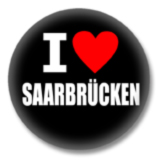 I love Saarbrücken Button