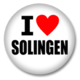 I love Solingen Ansteckbutton