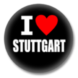 I love Stuttgart Button