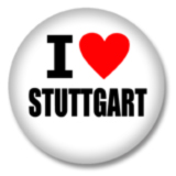 I love Stuttgart Ansteckbutton