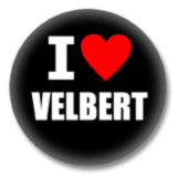 I love Velbert Button