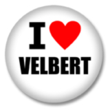 I love Velbert Ansteckbutton
