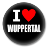 I love Wuppertal Button
