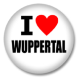 I love Wuppertal Ansteckbutton