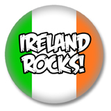 Irland Button - Ireland Rocks