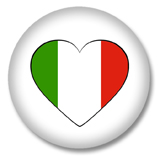 Italien Ansteckbutton