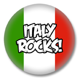 Italien Button - Italy Rocks