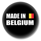 Belgien Button - Made in Belgium
