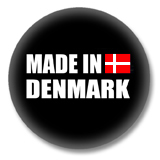 Dänemark Button - Made in Denmark