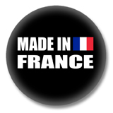 Frankreich Button - Made in France