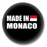 Monaco Button - Made in Monaco