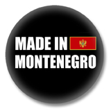 Montenegro Button - Made in Montenegro