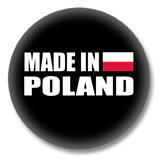 Polen Button - Made in Poland