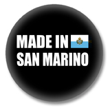 San Marino Button - Made in San Marino