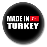 Türkei Button - Made in Turkey