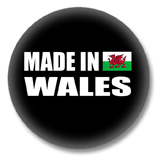 Wales Button - Made in Wales