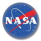 Button mit Motiv - NASA Logo