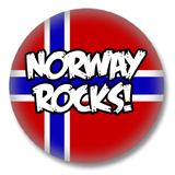 Norwegen Button - Norway Rocks