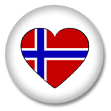Norwegen Ansteckbutton