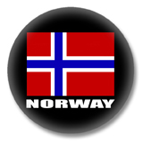 Norwegen Flagge Ansteckbutton