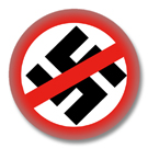 Gegen Nazis Button Badge / Ansteckbutton