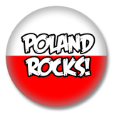 Polen Button - Poland Rocks
