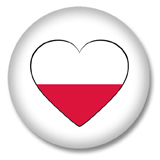 Polen Ansteckbutton