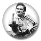 Johnny Cash Button Badge / Ansteckbutton - Nr.1