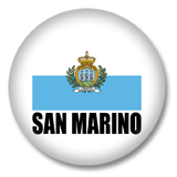 San Marino Flagge Button