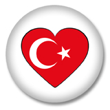 Türkei Ansteckbutton